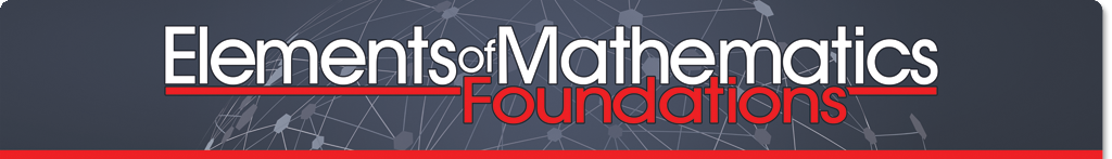 Elements Of Mathematics: Foundations